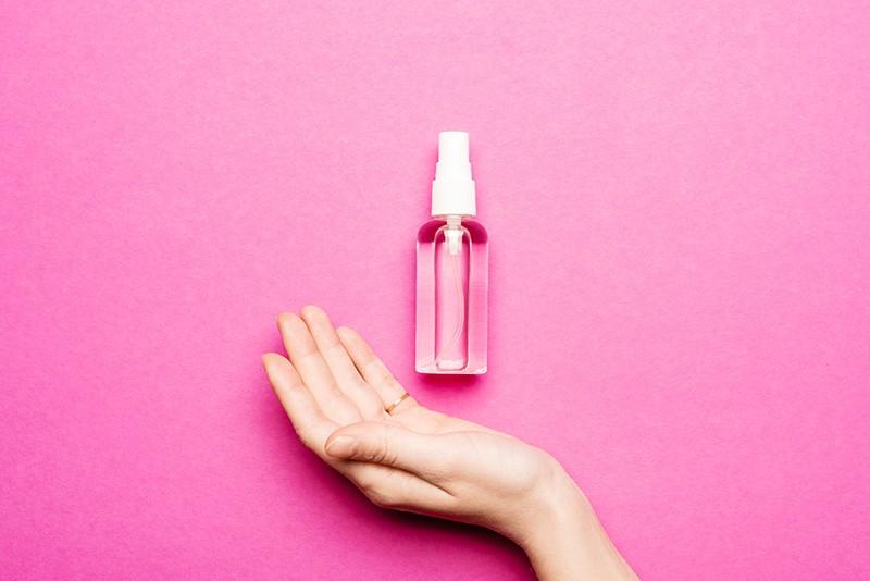 Rozenlavendelspray-krachtvoer voor vrouwen